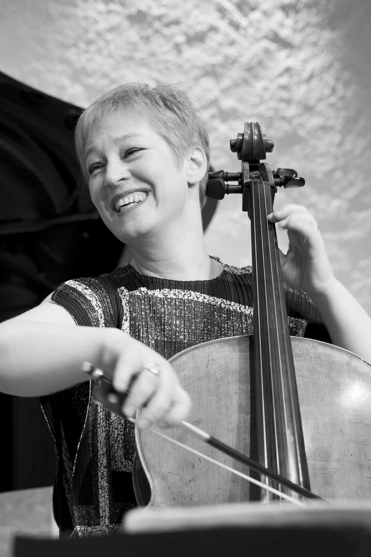 Diana Ligeti, violoncelliste. Trio George Sand