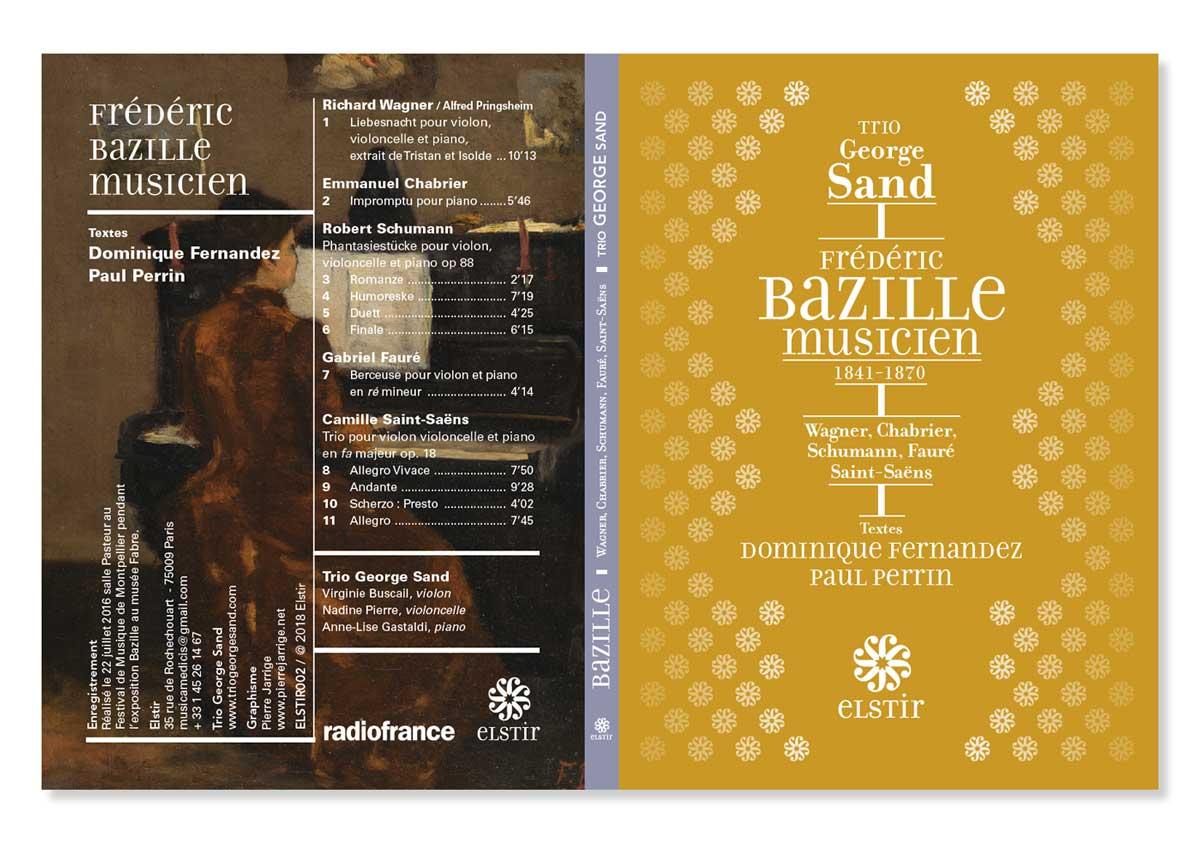 Frédéric Bazille musicien. Trio George Sand. Elstir Éditions